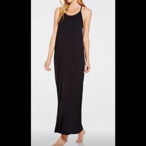 Fabletics nwt xl Neema black maxi dress